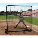 ProMounds Premium Series Protective 7' X 7' Square Field Screen (with Net)