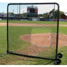 ProMounds Premium Series Protective 7' X 7' Field Screen (with SOFTBALL Net) by