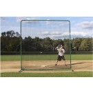 ProMounds Premium Series Protective 10' X 10' Field Screen (with Net)