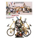 Bike / Rec Stand from QuickCrafter (Holds Four Bikes) by