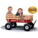 Radio Flyer All-Terrain Steel & Wood Wagon