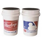 Baseball Practice Balls in Bucket from Rawlings