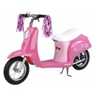 """Razor Pocket Mod """"Sweet Pea"""" Vintage Moped Style Electric Scooter (Pink) by"""