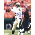 "Aaron Brooks Autographed New Orleans Saints 8"" x 10"" Photograph (Unframed)"