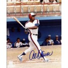 "Al Oliver Autographed Montreal Expos 8"" x 10"" Photograph (Unframed)"