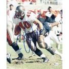 "Mike Alstott ""Running"" Autographed Tampa Bay Bucs 8"" x 10"" Photograph (Unframed)"