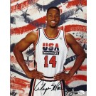 "Alonzo Mourning Autographed Dream Team USA 8"" x 10"" Olympic Photograph (Unframed)"