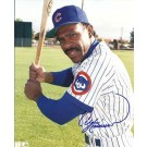 "Andre Dawson Autographed Chicago Cubs 8"" x 10"" Photograph (Unframed)"