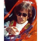 "Arie Luyendyk Autographed ""Racing"" 8"" x 10"" Photograph (Unframed)"