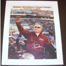 "Bobby Bowden Autographed FSU Seminoles 16"" x 20"" ""Last Game"" Canvas (Unframed)"