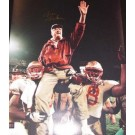 "Bobby Bowden Autographed FSU Seminoles 16"" x 20"" ""Shoulders"" Photograph (Unframed)"