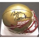 Bobby Bowden Autographed Florida State Seminoles Riddell Mini Football Helmet
