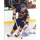 "Bernie Federko Autographed St. Louis Blues 8"" x 10"" Photograph (Unframed) by"