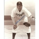 "Billy Herman Autographed Brooklyn Dodgers 8"" x 10"" Photograph Deceased Hall of Famer (Unframed)"