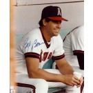 "Bob Boone Autographed California Angels 8"" x 10"" Photograph (Unframed)"