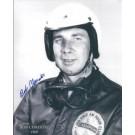 "Bob Christie Autographed Racing 8"" x 10"" Photograph (Unframed)"