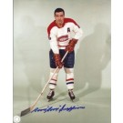"""Boom Boom Geoffrion Autographed Montreal Canadians 8"""" x 10"""" Photograph... by"""
