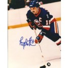 """Bryan Trottier Autographed New York Islanders 8"""" x 10"""" Photograph Hall of Famer... by"""
