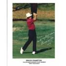 "Bruce Crampton Autographed Golf 8"" x 10"" Photograph (Unframed)"