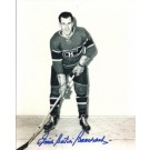 """Butch Bouchard Autographed Montreal Canadians """"Posing"""" 8"""" x 10""""... by"""