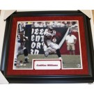 """Cadillac Williams Autographed Tampa Bay Buccaneers 16"""" x 20"""" Custom Framed... by"""