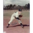 "Carl Erskine Autographed Brooklyn Dodgers 8"" x 10"" Photograph (Unframed)"