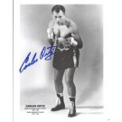 """Carlos Ortiz Autographed Boxing 8"""" x 10"""" Photograph (Unframed)"""