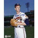 """Carlton Willey Autographed Milwaukee Braves 8"""" x 10"""" Photograph (Unframed)"""
