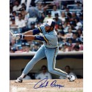 """Cecil Cooper Autographed Milwaukee Brewers 8"""" x 10"""" Photograph (Unframed)"""