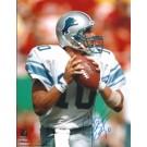 """Charlie Batch Autographed Detroit Lions 8"""" x 10"""" Photograph (Unframed)"""
