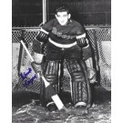 """Chuck Rayner Autographed New York Rangers 8"""" x 10"""" Photograph Hall of Famer... by"""