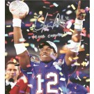 "Chris Leak Autographed ""National Championship Trophy"" 16"" x 20"" Photograph with ""2006 CHAMPS"" Inscription (Unframed)"