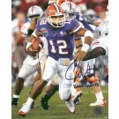 """Chris Leak Autographed """"National Championship Action"""" Limited Edition 8"""" x 10"""" Photograph with """"2006 CHAMPS!"""" Inscription (Unframed)"""