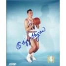 "Cliff Hagan Autographed St. Louis Hawks 8"" x 10"" Photograph Hall of Famer (Unframed)"