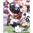 """Clinton Portis Autographed Denver Broncos 8"""" x 10"""" Photograph (Unframed)"""