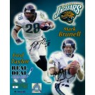 "Mark Brunell & Fred Taylor Autographed 16"" x 20"" Photograph - Limited Edition of  99 (Unframed)"