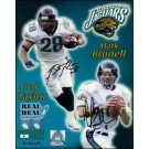 "Mark Brunell and Fred Taylor Autographed 8"" x 10"" Photograph - Limited Edition of 99 (Unframed)"
