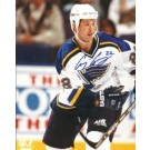 "Craig Conroy Autographed St. Louis Blues 8"" x 10"" Photograph (Unframed)"
