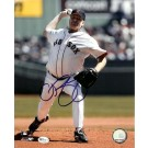 """Curt Schilling Autographed Boston Red Sox 8"""" x 10"""" Photograph (Unframed)"""