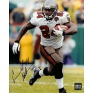 "Carnell ""Cadillac"" Williams Autographed (White Jersey) 8"" x 10"" Photograph (Unframed)"