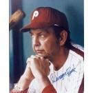 "Danny Ozark Autographed Philadelphia Phillies 8"" x 10"" Photograph (Unframed)"