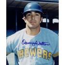 "Danny Walton Autographed Milwaukee Brewers 8"" x 10"" Photograph (Unframed)"