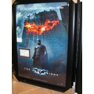 "Christian Bale ""Batman: The Dark Knight"" Autographed 3"" x 5"" card Custom Framed into the Movie Poster"
