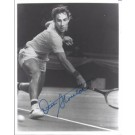 "Dick Stockton Autographed Tennis 8"" x 10"" Photograph (Unframed)"