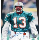 """Dan Marino Autographed Miami Dolphins 8"""" x 10"""" Throwback Portrait Photograph (Unframed)"""