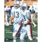 """Dan Marino and Mark Clayton DUAL Autographed Miami Dolphins 8"""" x 10"""" Photograph (Unframed)"""