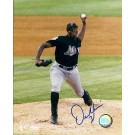 "Dontrelle Willis Autographed Florida Marlins 8"" x 10"" Photograph (Unframed) by"