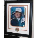 "Don Shula Autographed Miami Dolphins 8"" x 10"" Custom Framed Photograph"