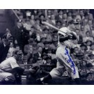 "Duke Snider ""Action Swinging"" Autographed Brooklyn Dodgers 8"" x 10"" Photograph 2x World Series Champion (Unframed)"