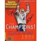 1996 Florida Gators Championship QB Danny Wuerffel and Coach Steve Spurrier Dual... by
